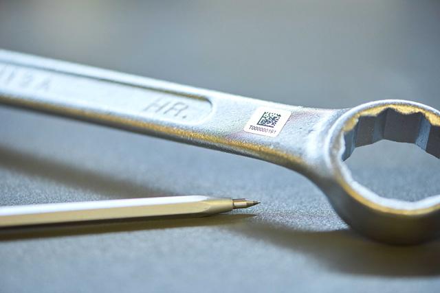 Mit der Teilekennzeichnung von S+P Samson wissen Sie immer, wo Ihr Werkzeug ist.