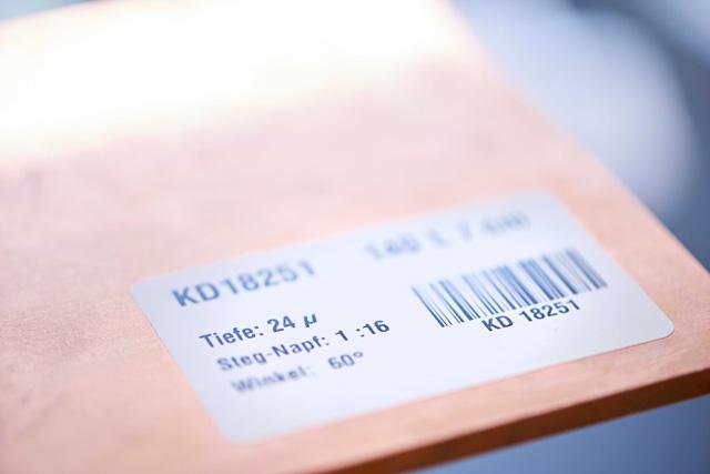 Materialprüfung – dauerhaft dokumentiert und archiviert.